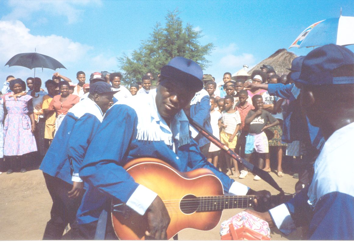Stephen Shelembe, Blanket's homestead in southern KwaZulu-Natal, January 1996. Photo_Carol Ann Muller.jpg