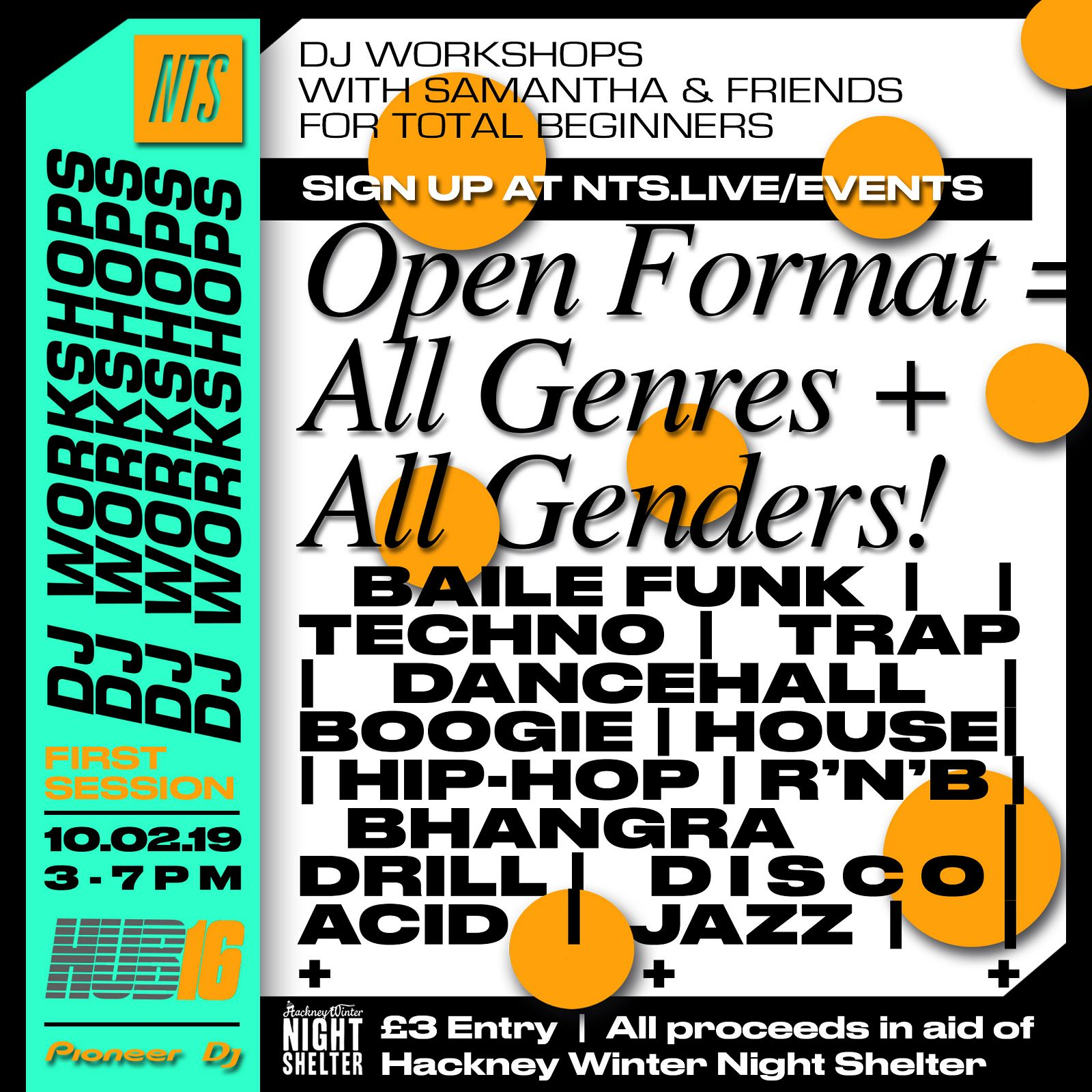 NTS x HUB16 DJ Workshop | NTS