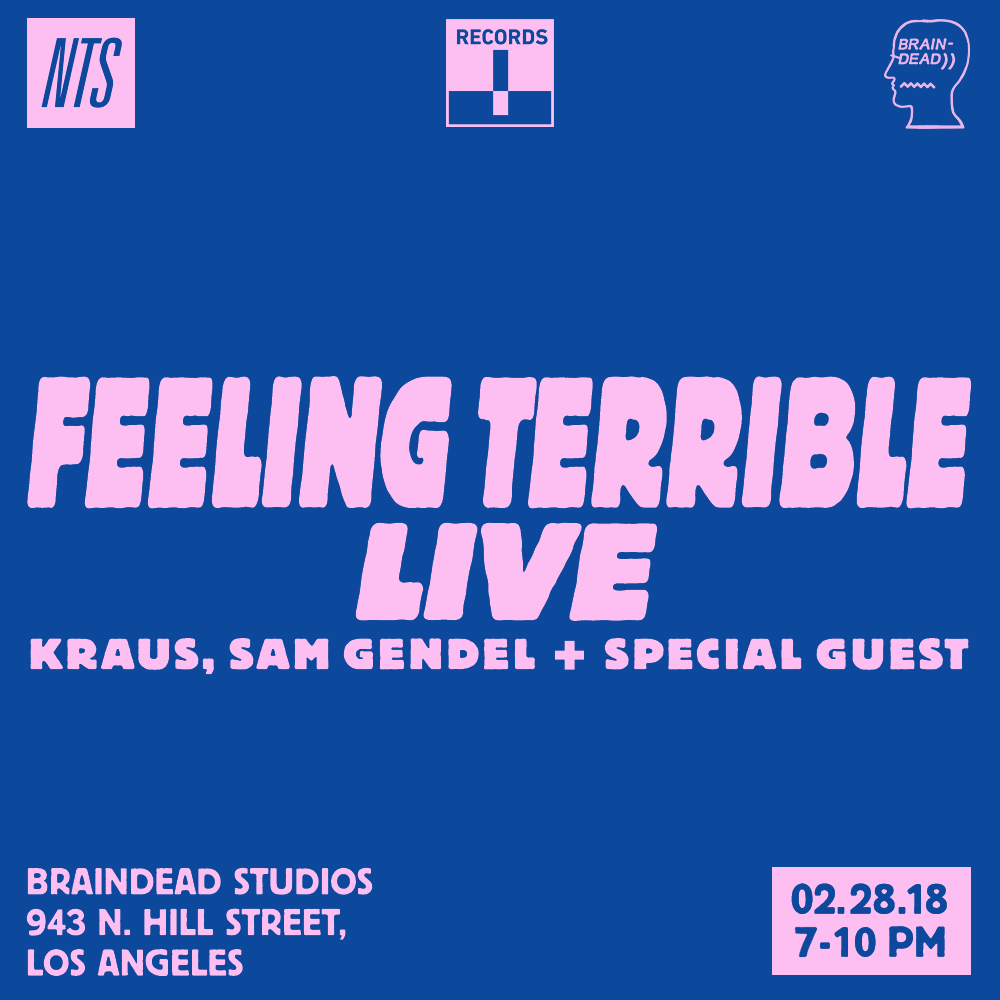 NTS x Braindead - Event 1- Terrible records 28.02.18 Artwork.png