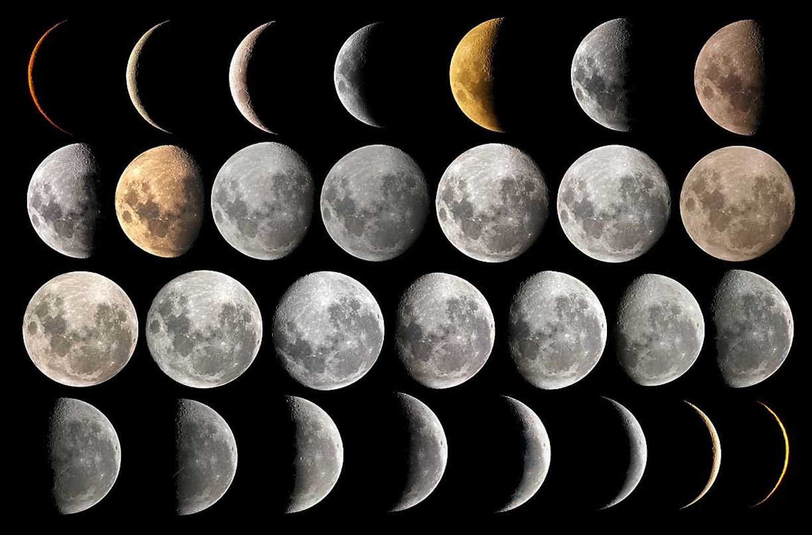 phases and eclipses of the moon Solar eclipses can only occur during a new moon when the moon moves between earth and the sun and the 3 celestial bodies form a straight line: earth–moon–sun.