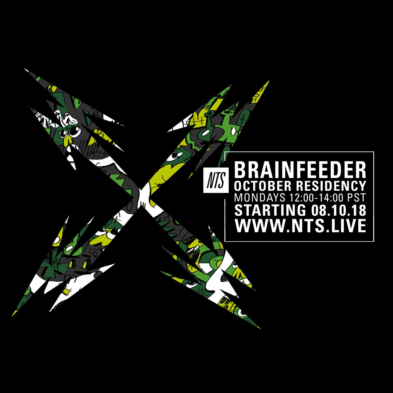 Brainfeeder NTS October Residency 2018.png