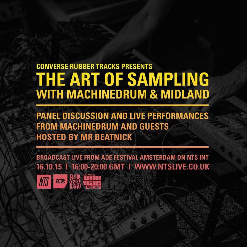Converse Rubber Tracks: The Art Of Sampling: Dollkraut & Machinedrum